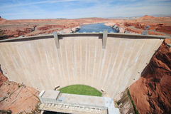 Glen Canyon Dam Royalty Free Stock Photography