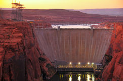 Glen Canyon Dam Royalty Free Stock Images