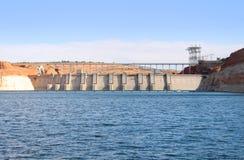 Glen Canyon Dam lizenzfreie stockfotos
