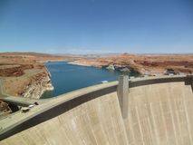 Glen Canyon Dam lizenzfreie stockfotos