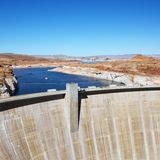 Glen Canyon Dam, Arizona. Royalty Free Stock Image