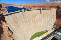 Glen Canyon Dam, Arizona Stock Image