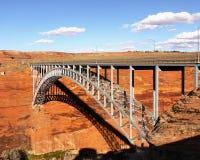 Glen Canyon Dam Bridge stockfotos