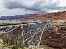 Glen Canyon Dam Bridge Fotografía de archivo