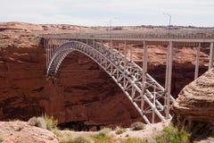 Glen Canyon Dam Bridge lizenzfreies stockbild