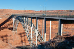 Glen Canyon Dam bridge Stock Photography