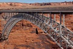 Glen Canyon Dam Bridge Stock Image