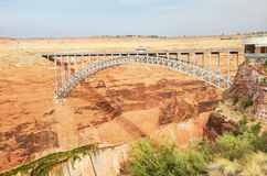 Glen Canyon Dam Bridge. Coconino County, Arizona Royalty Free Stock Image
