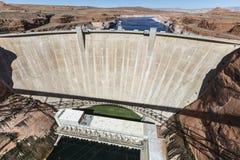 Glen Canyon Dam on the Colorado River Royalty Free Stock Image