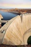 Glen Canyon Dam Coloradofloden, Arizona, Förenta staterna Arkivbild