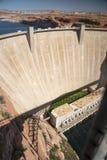 Glen Canyon Dam da ponte, página o Arizona imagens de stock