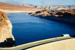 Glen Canyon Dam in der Seite Arizona Lizenzfreie Stockfotografie