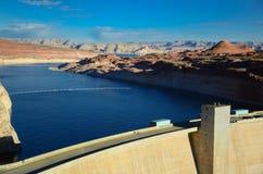 Glen Canyon Dam in der Seite Arizona Stockfotos