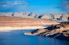 Glen Canyon Dam in der Seite Arizona Stockbilder
