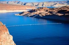 Glen Canyon Dam in der Seite Arizona Stockfoto