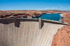 Glen Canyon Dam in der Seite, Arizona, USA stockfotos