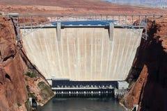 Glen Canyon Dam, Etats-Unis Photographie stock libre de droits