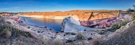 Glen Canyon Dam and Lake Powell, Arizona Royalty Free Stock Images