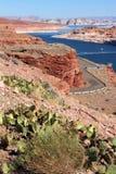 Glen Canyon Dam / Lake Powell stock image