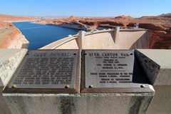 Glen Canyon Dam / Lake Powell Stock Images
