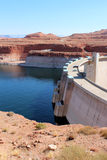 Glen Canyon Dam / Lake Powell Stock Image