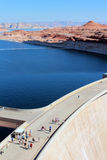 Glen Canyon Dam / Lake Powell Royalty Free Stock Image