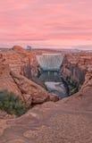 Glen Canyon Dam Landscape lizenzfreie stockfotografie
