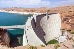 Glen Canyon Dam, Near Page Royalty Free Stock Images