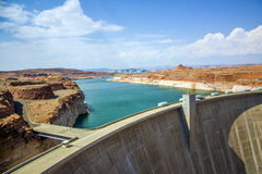 Glen Canyon Dam, near Page Stock Image