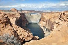 Glen Canyon Dam, Page, Arizona Royalty Free Stock Photo