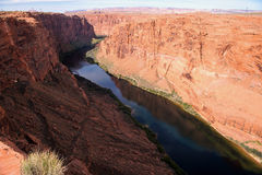 Glen Canyon Dam in Page, Arizona, USA Stock Photo