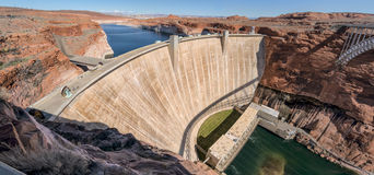 Glen Canyon Dam, Page, Arizona royalty free stock image