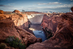 Glen Canyon Dam, Page, AZ Royalty Free Stock Image