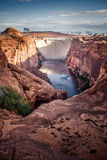Glen Canyon Dam, Page, AZ Stock Photo