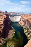 Glen Canyon Dam in Page is delivering power Stock Images