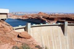 Glen Canyon Dam/See Powell stockbilder