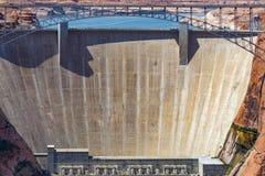 Glen Canyon Dam, Seite, Arizona, USA Lizenzfreies Stockbild