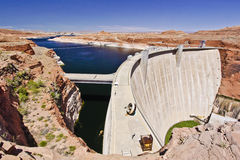 The Glen Canyon Hydro Dam Royalty Free Stock Photos