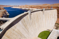 The Glen Canyon Hydro Dam Stock Images