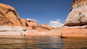 glen canyon jeziora Powell Zdjęcia Stock
