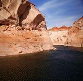 Glen Canyon, Lake Powell , Arizona Stock Photo