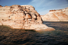 Glen Canyon, Lake Powell, Arizona Royalty Free Stock Photography