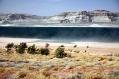 Glen Canyon ,Lake Powell , Arizona Stock Photos