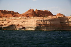 Glen Canyon, Lake Powell, Arizona , USA Royalty Free Stock Image