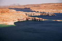 Glen Canyon, Lake Powell, Arizona , USA Royalty Free Stock Images