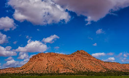 Glen canyon mountains and geological formations Stock Photography