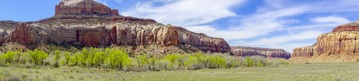 Glen canyon mountains geological formations Royalty Free Stock Photos