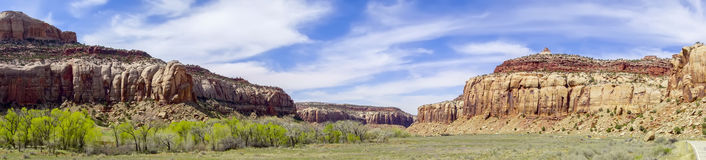 Glen canyon mountains geological formations Royalty Free Stock Photo
