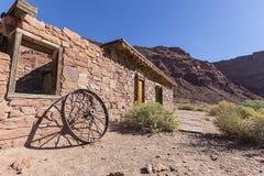Glen Canyon National Park Lees-Fähren-Ruine stockfotos
