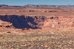 Glen Canyon Opening Lizenzfreies Stockfoto